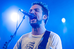 © Licensed to London News Pictures. 30/08/2015. Reading, UK. Frank Turner performing at Reading Festival 2015, Day 3 Sunday.  Frank Turner's real name is Frances Edward Turner.  .  Photo credit: Richard Isaac/LNP
