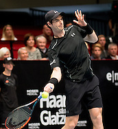 Andy Murray during the Tie Break Tens competition at the Erste Bank Open 500 at the Wiener Stadthalle, Vienna, Austria.<br /> Picture by EXPA Pictures/Focus Images Ltd 07814482222<br /> 23/10/2016<br /> *** UK & IRELAND ONLY ***<br /> <br /> EXPA-PUC-161024-0043.jpg