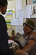 13 July 2011, Teyateyaneng, Berea District, Lesotho. Maternal Health Clinic.