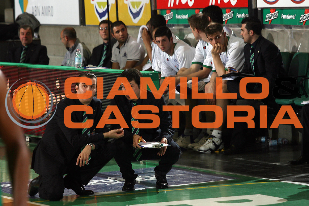 DESCRIZIONE : Treviso Lega A1 2006-07 Benetton Treviso Montepaschi Siena <br /> GIOCATORE : Pianigiani Banchi <br /> SQUADRA : Montepaschi Siena <br /> EVENTO : Campionato Lega A1 2006-2007 <br /> GARA : Benetton Treviso Montepaschi Siena <br /> DATA : 22/04/2007 <br /> CATEGORIA : Ritratto <br /> SPORT : Pallacanestro <br /> AUTORE : Agenzia Ciamillo-Castoria/M.Marchi