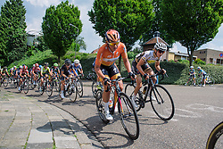 Chantal Blaak (Boels Dolmans) at Boels Hills Classic 2016. A 131km road race from Sittard to Berg en Terblijt, Netherlands on 27th May 2016.