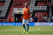 David Silva (21) of Manchester City warming up before the Premier League match between Bournemouth and Manchester City at the Vitality Stadium, Bournemouth, England on 26 August 2017. Photo by Graham Hunt.