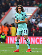 Matteo Guendouzi (29) of Arsenal during the Premier League match between Bournemouth and Arsenal at the Vitality Stadium, Bournemouth, England on 25 November 2018.