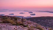 Grindstone Neck at sunrise, Schoodic Peninsula, Acadia National Park, near  Bar Harbor, maine