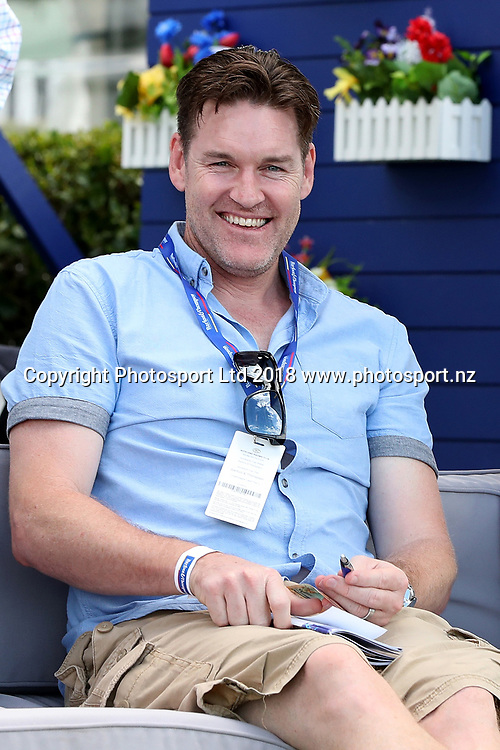 NZ Breakers Dylan Boucher at Auckland Cup Day, Ellerslie Racecourse, Auckland, New Zealand, Saturday, March 10, 2018. Copyright photo: David Rowland / www.photosport.nz