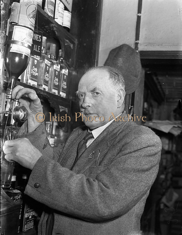 James McKenna, Clontibret Publican, Co Monaghan.04/04/1957.