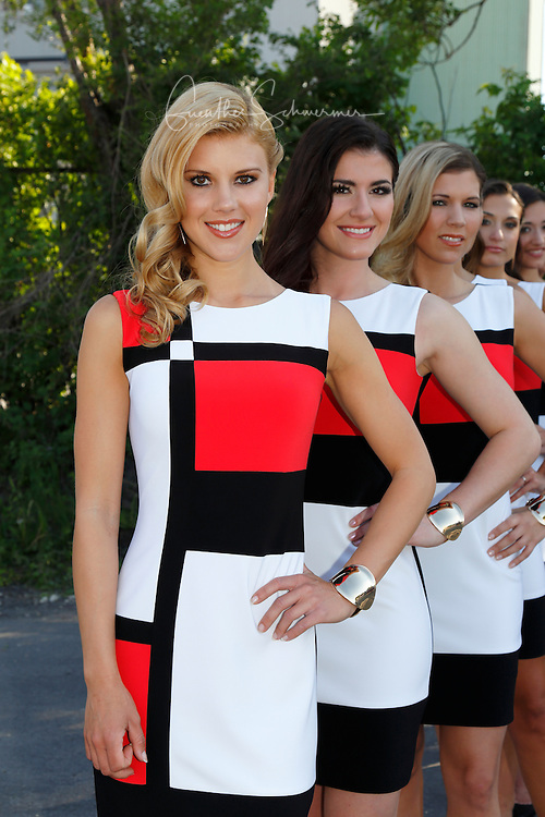 F1 Grid Girls 2015, Montreal, Quebec, Canada