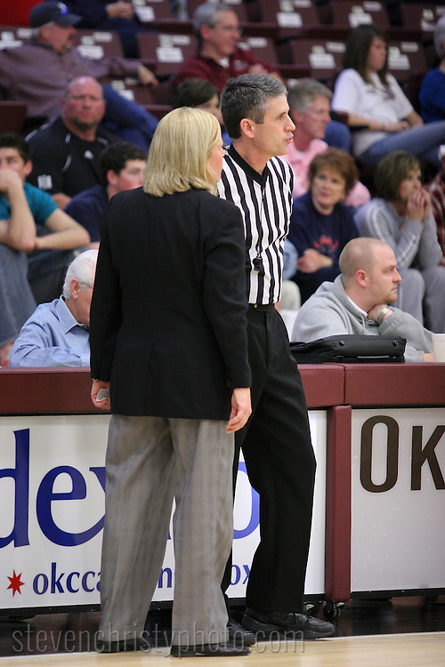 OC Women's Basketball vs UCO.December 16, 2006