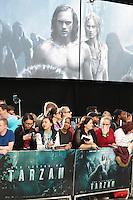 The Legend of Tarzan - European film premiere, Leicester Square, London UK, 05 July 2016, Photo by Richard Goldschmidt