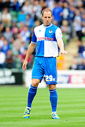 Bristol Rovers' Mark McChrystal  - Photo mandatory by-line: Dougie Allward/JMP - Tel: Mobile: 07966 386802 07/09/2013 - SPORT - FOOTBALL -  Home Park - Plymouth - Plymouth Argyle V Bristol Rovers - Sky Bet League Two