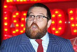 © Licensed to London News Pictures. 06/02/2014, UK. Nick Frost, Cuban Fury - World Film Premiere, VUE Leicester Square, London UK, 06 February 2014. Photo credit : Richard Goldschmidt/Piqtured/LNP