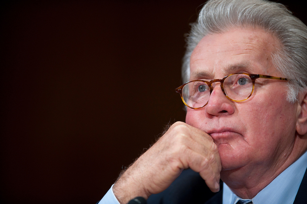 "Actor MARTIN SHEEN during a Senate Judiciary Committee hearing ""Drug and Veterans Treatment Courts: Seeking Cost-Effective Solutions for Protecting Public Safety and Reducing Recidivism."""