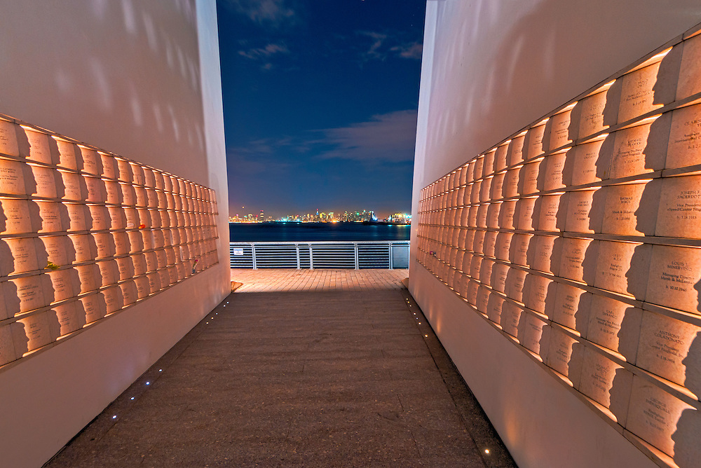 Masayuki Sono's Postcards, Staten Island September 11 Memorial honors the Staten Island victims of terrorist attacks, New York City, New York, USA