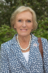 © Licensed to London News Pictures. 20/05/2013. London, England. Pictured: Mary Berry. Celebrities at Press Day Monday of the RHS Chelsea Flower Show. Photo credit: Bettina Strenske/LNP