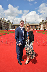 The US Ambassador to the UK MATTHEW BARZUN and his wife BROOKE BROWN BARZUN at the 2016 RHS Chelsea Flower Show, Royal Hospital Chelsea, London on 23rd May 2016