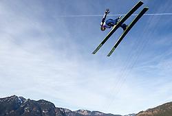 01.01.2014, Olympiaschanze, Garmisch Partenkirchen, GER, FIS Ski Sprung Weltcup, 62. Vierschanzentournee, Probesprung, im Bild Lukas Hlava (CZE) // Lukas Hlava (CZE) during Trial Jump of 62nd Four Hills Tournament of FIS Ski Jumping World Cup at the Olympiaschanze, Garmisch Partenkirchen, Germany on 2014/01/01. EXPA Pictures © 2014, PhotoCredit: EXPA/ JFK