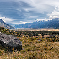 "According to ""Wikipedia"" - Aoraki/Mount Cook National Park is in the South Island of New Zealand near the town of Twizel. Aoraki/Mount Cook, New Zealand's highest mountain and Aoraki/Mount Cook village lie within the park. The area was gazetted as a national park in October 1953 and consists of reserves that were established as early as 1887 to protect the area's significant vegetation and landscape."