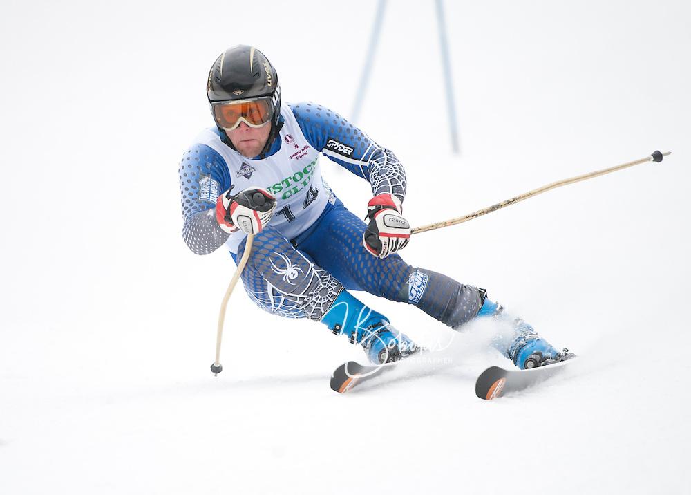 Macomber Cup at Gunstock second run mens giant slalom January 29, 2011.