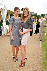 Left to right, AMBER LE BON and her mother YASMIN LE BON at a charity polo match organised by Jaeger Le Coultre was held at Ham Polo Club, Richmond, Surrey on 12th June 2009.