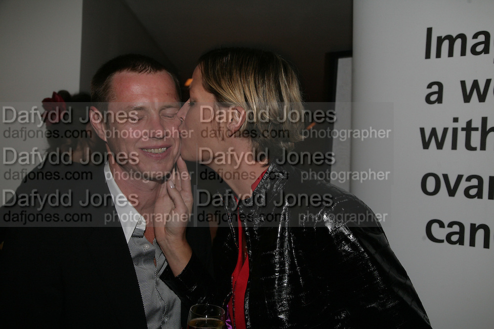 Tom and Cynthia Conran, The Eve Appeal Dinner, Nobu London,  Dinner in aid of Eve Appeal, Gynaecology Cancer Research Fund, 3 September 2007. -DO NOT ARCHIVE-© Copyright Photograph by Dafydd Jones. 248 Clapham Rd. London SW9 0PZ. Tel 0207 820 0771. www.dafjones.com.