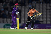 Maia Bouchier of Southern Vipers batting during the Women's Cricket Super League match between Southern Vipers and Loughborough Lightning at the Ageas Bowl, Southampton, United Kingdom on 28 August 2019.