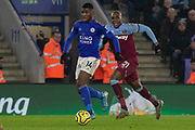 Kelechi Iheanacho (14) during the Premier League match between Leicester City and West Ham United at the King Power Stadium, Leicester, England on 22 January 2020.
