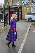The Duchess leaves - The Duchess of Cornwall, President, Ebony Horse Club, visits the charity's Brixton riding centre. The centre is celebrating its 21st birthday and its 6th year on this site. London 16 Feb 2017 .