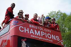 Bristol City celebration tour - Photo mandatory by-line: Dougie Allward/JMP - Mobile: 07966 386802 - 04/05/2015 - SPORT - Football - Bristol -  - Bristol City Celebration Tour