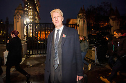"© Licensed to London News Pictures. 09/11/2018. London, UK. JO JOHNSON MP is seen leaving Parliament after resigning as transport minister. Mr Johnson, brother of former foreign secretary Boris Johnson, has resigned his ministerial post today saying it's ""imperative we go back to the people and check"" they still want to leave. Photo credit: Ben Cawthra/LNP"