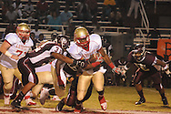 Lafayette High's Demarkous Dennis (5) runs vs. Greenwood in Greenwood, Miss. on Friday, August 26, 2011. Lafayette won 42-0.