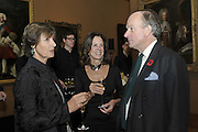 BRIDGET BECK; LADY MIMI PACKENHAM; DAVID CAMPBELL, Rothschild Wealth Management & Trust  and David Campbell  host a party to celebrate the publication of <br /> 'Made in Britain' -The Men and Women Who Shaped the Modern World by Adrian Sykes. National Portrait Gallery. London. 9 November 2011 <br /> <br /> <br />  , -DO NOT ARCHIVE-© Copyright Photograph by Dafydd Jones. 248 Clapham Rd. London SW9 0PZ. Tel 0207 820 0771. www.dafjones.com.