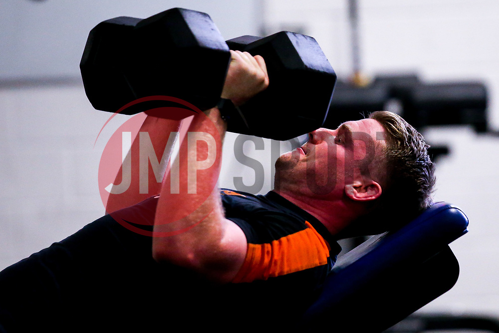 Niall Annett of Worcester Warriors during preseason training ahead of the 2019/20 Gallagher Premiership Rugby season - Mandatory by-line: Robbie Stephenson/JMP - 06/08/2019 - RUGBY - Sixways Stadium - Worcester, England - Worcester Warriors Preseason Training 2019