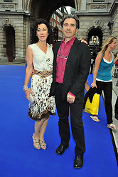 HELEN DAVID and her husband at the Royal Academy of Arts Summer Party held at Burlington House, Piccadilly, London on 3rd June 2009.
