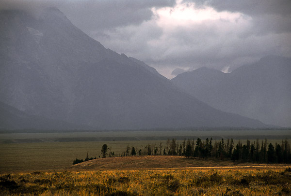 Late afternoon light in Grand Teton National Park, Wyoming