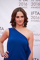 Actress Ruth Bradley at the IFTA Film & Drama Awards (The Irish Film & Television Academy) at the Mansion House in Dublin, Ireland, Saturday 9th April 2016. Photographer: Doreen Kennedy