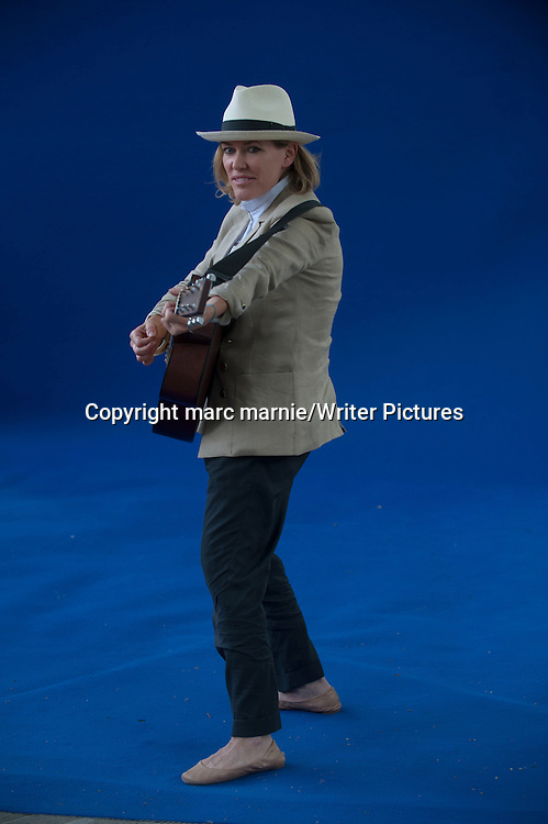 Cerys Matthews at Edinburgh International Book Festival 2013<br />13th August 2013<br /><br />Picture by marc marnie/Writer Pictures<br /><br />WORLD RIGHTS