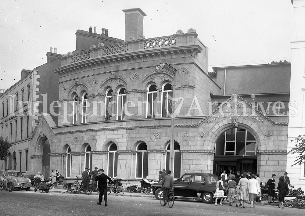 Saint Colmans Hall, Newry. (Part of the Independent Ireland Newspapers/NLI Collection)