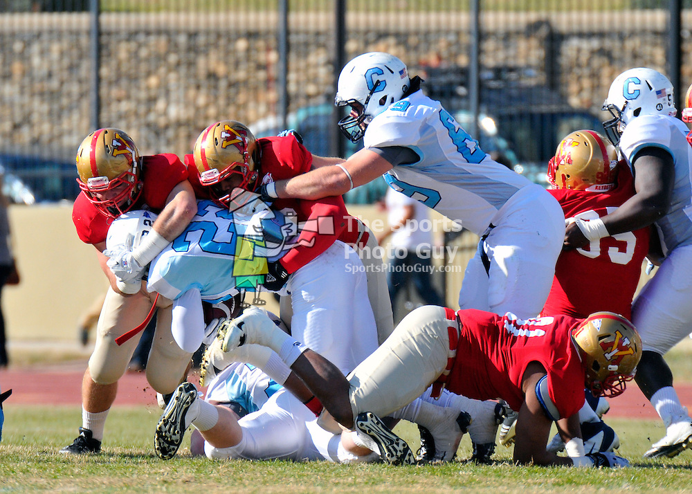 NCAA FCS: The Citadel holds on to edge VMI in the Military Classic of the South, 27-24