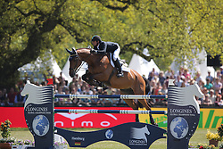 Modolo Zanotelli Marlon, (BRA), Cash del Mar Z<br /> Longines Global Champions Tour - Grand Prix of Hamburg<br /> Hamburg - Hamburger Derby 2016<br /> © Hippo Foto - Stefan Lafrentz