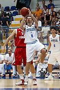 DESCRIZIONE : Roseto Degli Abruzzi Giochi del Mediterraneo 2009 Mediterranean Games Turchia Italia Turkey Italy Final Men<br /> GIOCATORE : Daniele Cinciarini<br /> SQUADRA : Italia Italy<br /> EVENTO : Roseto Degli Abruzzi Giochi del Mediterraneo 2009<br /> GARA : Turchia Italia Turkey Italy <br /> DATA : 04/07/2009<br /> CATEGORIA : tiro<br /> SPORT : Pallacanestro<br /> AUTORE : Agenzia Ciamillo-Castoria/C.De Massis<br /> Galleria : Giochi del Mediterraneo 2009<br /> Fotonotizia : Roseto Degli Abruzzi Giochi del Mediterraneo 2009 Mediterranean Games Turchia Italia Turkey Italy Final Men <br /> Predefinita :