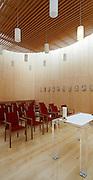 Andachtsraum im LKH Fu?rstenfeld.Architektur: Peter Zinganel.