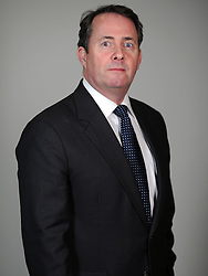 Former Secretary of State for Defence The Rt Hon Dr Liam Fox. Photo By Andrew Parsons/ i-Images