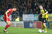 Nathan Broadhead of Burton Albion (9) during the The FA Cup third round replay match between Burton Albion and Milton Keynes Dons at the Pirelli Stadium, Burton upon Trent, England on 14 January 2020.