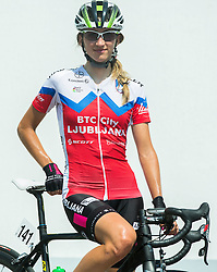 Polona Batagelj (SLO) of BTC City Ljubljana Team after the Stage 1 (102,5 km) from Kamnik to Ljubljana at 26th Giro Rosa 2015 Women cycling race, on July 4, 2015 in BTC City, Ljubljana,  Slovenia. Photo by Vid Ponikvar / Sportida