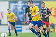 Voetbal Hoornaar Hoofdklasse B 2013-2014 SteDoCo - Staphorst: L-R Philip Ties van Staphorst