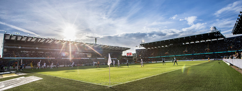 BRUGGE - Club Brugge - Zulte Waregem , Voetbal , Seizoen 2016/2017 , Jupiler Pro League Belgie Play-off 1 , Jan Breydel Stadion , 01-05-2017 , Overzicht van een zonnig stadion