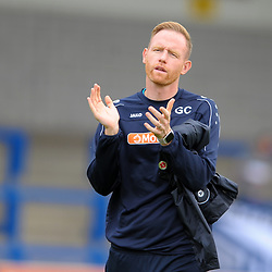 TELFORD COPYRIGHT MIKE SHERIDAN Gavin Cowan during the National League North fixture between AFC Telford United and Gateshead FC at the New Bucks Head Stadium on Saturday, August 10, 2019<br /> <br /> Picture credit: Mike Sheridan<br /> <br /> MS201920-005