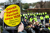 Dover, Anti Facist demonstration.