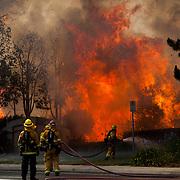 A County Ablaze