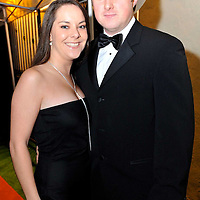 -FREE PICTURE / NO REPRODUCTION FEE-.Pictured at the annual Black and White Ball in the Blue Haven Hotel, Kinsale were Lara Jones, Cobh and Colman Beechinor, Ballintemple..Pic. John Allen